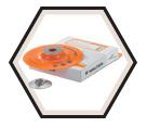 Backing Pad - Fibre Disc / Flexible