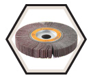 "Flap Wheels - Zirconium - 6-1/2"" Dia. / Coolcut™"