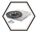 Backing Pad - Fibre Disc / Hard *TURBO™