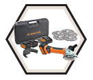 "Angle Cutter (Kit) ZIPCUTTER - 5"" dia. - 18 Volts / 34-A 950"