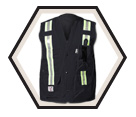 FR Safety Vest - Unlined / Indura Ultra Soft