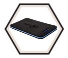 Anti-Fatigue Mat - Black - EVA Foam / 355191