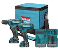 2 Tool Combo Kit *With BONUS - 12V Li-Ion / CL201S