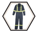 Industrial Coveralls - Nomex® MHP - 7 oz. / 163 Style
