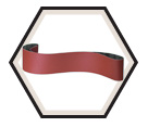 "Cloth Belts - Aluminum Oxide - 3/8"" Wide / CS 310 X"