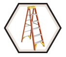 Fiberglass Stepladder XHD / 6200 Series