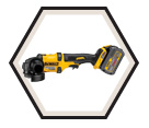 "Angle Grinder (Kit) MAX™ - 4-1/2"" to 6"" dia. - 60V Li-Ion / DCG414 Series"