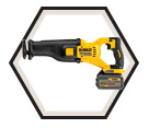 Reciprocating Saw (Kit) FLEXVOLT™ - 60V Li-Ion / DCS388 Series
