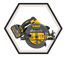 "Circular Saw (Kit) FLEXVOLT™ - 7-1/4"" - 60V Li-Ion / DCS575 Series"