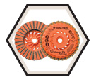 Flap Disc - Zirconium Grain - Turbo - Finishing / Type 27S