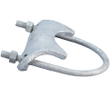 Pipe & Conduit Clamp - Right Angle - Cast Iron / Hot-Dip Galvanized