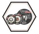 "Cut & Grind Wheel - Aluminum Oxide - 7/8"" Arbor / Type 27 *HP COMBO™"