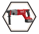 "Rotary Hammer (Kit) FUEL™ - 7.65 lbs - 1"" SDS-Plus - 18V Li-Ion / 2713 Series"