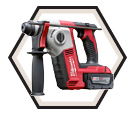 "Rotary Hammer (Kit) M18™ - 5.5 lbs - 5/8"" SDS-Plus - 18V Li-Ion / 2612 Series"