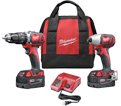 2 Tool Combo Kit M18™ - 18V Li-Ion / 2697 Series