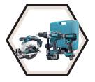 3 Tool Combo Kit LXT - 18V Li-Ion / LXT217CSD