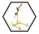 Hoist System - Yellow Aluminum - 4 Pc / DuraHoist™