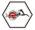 "Circular Saw (Tool Only) - 8-1/4"" - Worm Drive / SPT78W-22"