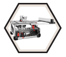 "Table Saw (Tool Only) - 10"" - Worm Drive / SPT70WT-01"