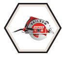 """Circular Saw (Tool Only) - 7-1/4"""" - Sidewinder / SPT67WM-22"""