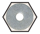 Fender Washers - Low Carbon Steel / Zinc