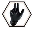 Diposable Gloves - 6 mil - Powder-Free - Nitrile / Grippaz