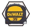 35' Tape Measure / DWHT33976