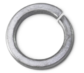 Lock Washer - Hi-Collar Helical Spring - Steel / Zinc