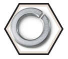 Lock Washer - Helical Spring - 18.8 Stainless Steel