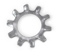Lock Washer - External Tooth - Steel / Zinc