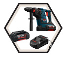 "Rotary Hammer (Kit) - 1-1/8"" SDS-Plus - 36V Li-Ion / RH328VC-36K *BULLDOG"