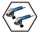 """Angle Grinder (2 Pack Kit) - 4-1/2"""" dia. - 7.5 amps / GWS8-45-2P"""
