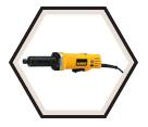 """Die Grinder (Kit) - 1-1/2"""" - 4.2 amps / DWE4887"""