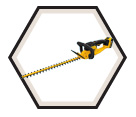 Hedge Trimmer (Kit) MAX™ - 20V Li-Ion / DCHT820P1