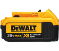 Lithium-Ion Battery MAX™ - 20 Volt (4.0 Ah) / DCB204 Series
