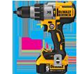 """Hammer Drill (Kit) MAX XR™- 1/2"""" - 20V Li-Ion / DCD996 Series"""