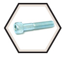 "Hex Socket Cap Screws 1/4"" Diameter - 18.8 Stainless Steel"