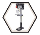 "Drill Press (Kit) - Floor w/ Safety Guard - 17"" / KC-118FC-(LS)"