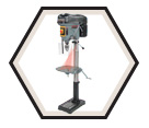 "Drill Press (Kit) - Floor w/ Safety Guard - 17"" / KC-119FC-LS"
