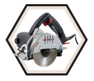 "Wet / Dry Tile Saw (Kit) - 5"" dia. - 12.0 amps / Beast5"