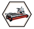 "Wet Tile Saw (Kit) - 7"" dia. - 13.0 amps / Beast7"