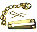 Chain Door Guard - Brass Plating / 75-6270