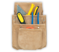 Tool Pouch - 3 Pocket - Split Leather / DW1019