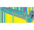 Pan Head #8 Robertson® Tek Screws / Zinc (BULK)