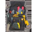 Utility Pouch - 8 Pocket - Poly Fabric / EL1524