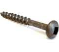 Pan Head #8 Robertson Wood Screws / Lubricized® (BULK)