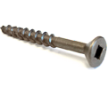Flat Head #10 Roberston Wood Screws / Lubricized® (BULK)
