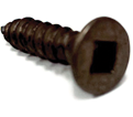 Flat Head #6 Robertson Wood Screws / Lubricized® (BULK)