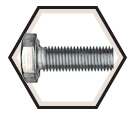 "Hex Head Cap Screw 5/16"" UNF - Grade 5 / Zinc"