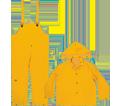 35mm PVC - 3-Piece Yellow Rainsuit - Large / R101L
